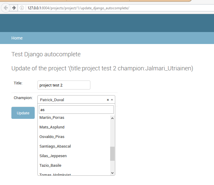 django-autocomplete-light test — Django test autocomplete 0 2 1